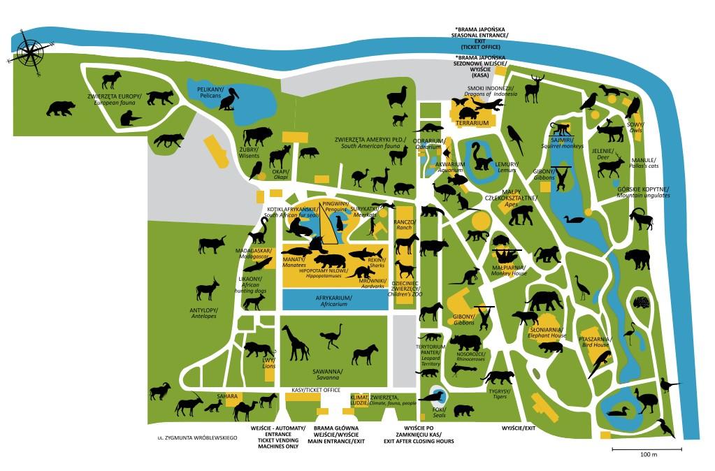 Zoo Wroclaw a Afrykárium