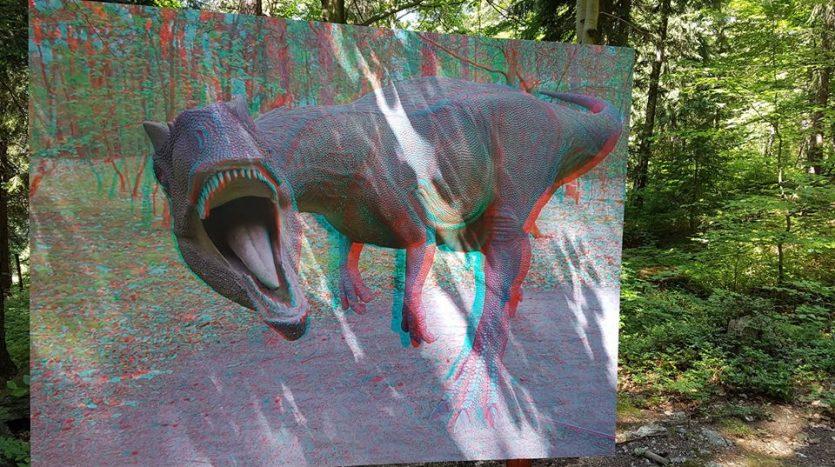 Dinopark a zábavní park
