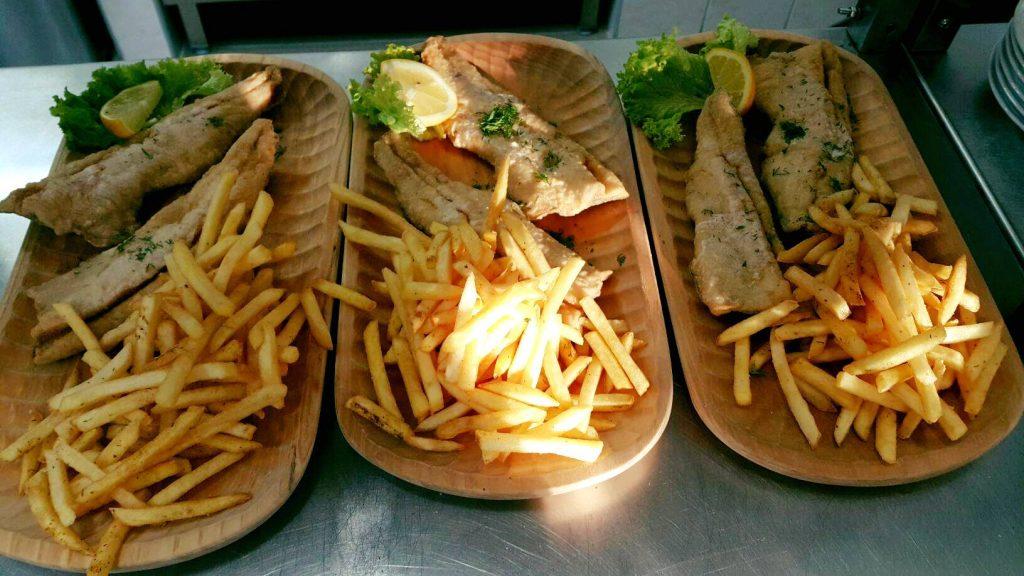 Park megaryb Restaurace